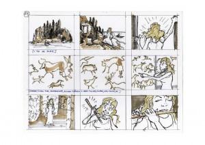 la voix magique - story board rémy guenin page 17