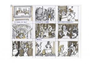 la voix magique - story board rémy guenin page 6