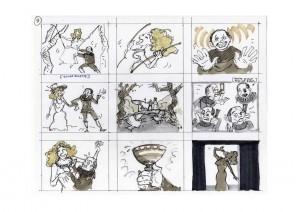 la voix magique - story board rémy guenin page 9